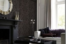 Black Decor / Inspiration and decor that feature the color black.