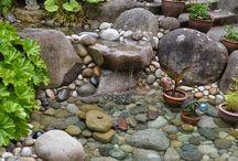 Pond stones