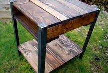 pallet Tables / Pallets Ideas, Designs, DIY, Recycled, Upcycled Pallet Plans And Projects.