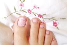 uñas pies / uñas pedicura