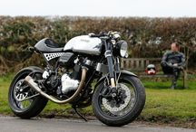Cafe Racers / Cafe racer style motorcycles / by Geoff Billingham