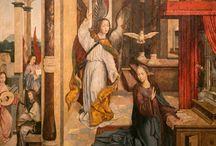 kirkkovuoden symboliikkaa / kristillistä taidetta