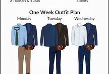 man wear