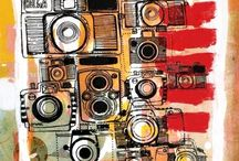 Cameras... / Cameras and equipment I love/want/need/desire/adore:) / by Lisa Broomell Lyons