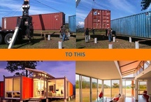 Shipping Container Homes / Inspiration for building our shipping container home :)