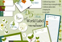 labels / by Lisa Crowder