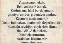 Edebiyat-ŞİİRLER- ÖZLÜ SÖZLER