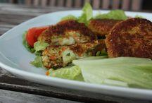 Quinoa Burger mit Mozarella
