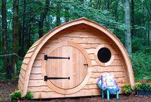 Little Merry Playhouse / by Wooden Wonders Hobbit Holes