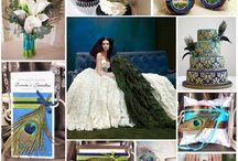 Pawie Pióra czyli odważne i eleganckie wesele / Motyw Pawiego Pióra na weselu