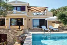 Villa Anastasia #Paxoi #Greece #Island /  Villa Anastasia , on the island of Paxos is part of Triena complex of three high quality villas ( the other two being Calliope and Theodora ) , offering privacy and luxury with all the amenities of a luxury hotel. http://www.mygreek-villa.com/fr/rent-villa-search-2/villa-anastasia-paxos-island-greece