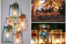 Mason jar lanterns / Over involved with Origami! Wanting to succeed !