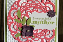 stampin up mom cards