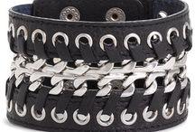 leather jewelry / by tammera saglimbene
