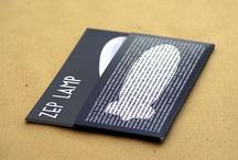 Zep Lamp Postcards / Lavoro grafico pubblicitario per la lampada Zep.