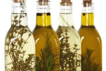 infused oils and infused vinegars