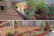 Garten Dekorationen / Wer dekoriert nicht gerne seinen Garten?  Ein liebevoll dekorierter Garten bringt z.B. viele Spaziergänger dazu stehen zu bleiben und Deinen tollen Garten zu bewundern.