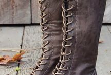 Bags & Boots / Leather bags & Leather boots