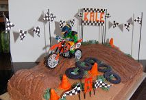 BMX Motorbike Party Ideas & Decorations / BMX Motorbike Motor Dirt Bike Personalised Birthday Party Decorations Supplies Packs Shop Online Australia Banners Bunting Wall Display Cupcake Toppers Chocolate Wrappers Juice Water Pop Top Labels Posters Lanterns Invites Cup Stickers Ideas Inspiration Cake Table Katie J Design and Events