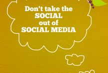 Social Media Inspiration / Remember why you started using social media in the first place.