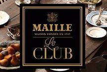 Le Club / Welcome to Le Club Gastronomique–our guide to flavor, providing inspiration and insight for making meals more memorable with Maille.   / by Maille US