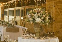 Rustic / Who says rustic can't be elegant and chic?