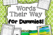 Firsties -- Word Sort Ideas / by Cindy Tortorello