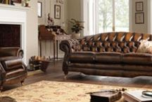 Regent - Traditional Leather Furniture / Take a look at our range of Regent traditional leather furniture. (Available in a variety of colours - please see the website for more options) - http://www.thomaslloyd.com/range/regent/