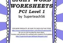 Special Ed Spot PCI Reading Materials Ideas / This board is for ideas and suggestions for teaching and supplementing the PCI Reading Program in the special education classroom.