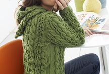 Cable knit cardigans