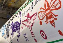 Quetzalcóatl / Nuestro nuevo Dreamliner tiene una piel muy especial #Quetzalcoatl.
