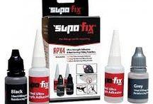 Supa-Fix APX4 superlijm / Supa-Fix APX4 lijmt: Hout, Plastic, Keramiek, Staal, Aluminium, Glasvezel, Koolstofvezel, Rubber & veel meer in slechts 7 seconden! Vervolgens kan je dit schuren, verven, polijsten, schroeven en zelfs in boren!