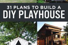 DIY playhouses