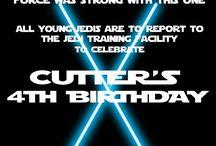 Star Wars laser tag bday