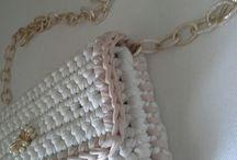 my crochet bag!! / Handmade bags