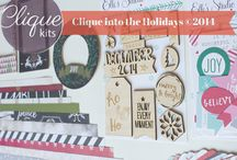 Clique into the Holidays 2014 / Clique Kits limited edition Holiday Kit