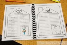 Kindergarten - Word Families