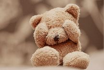 Teddy bears..