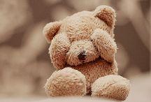 Teddy bears..