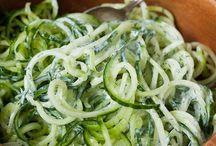 Gemüse-Salate...