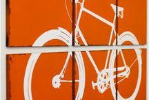 bike, cycling art - rower