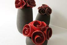 Keramikblomster