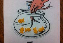 Dr. Seuss Lesson Ideas / by Lauren Dabrowski