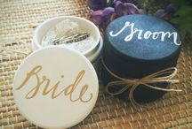 Wedding rings boxes