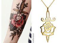 possíveis tatuagem