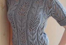 пуловер, платье