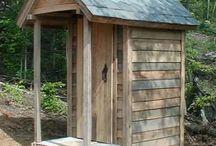 outhouse, wychodek