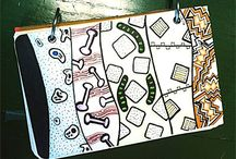Art Journaling / Inspiration for art journals