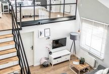 Small apartment loft