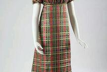 Plaid tartan regency dress